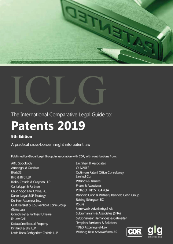 ICLG Patents 2019